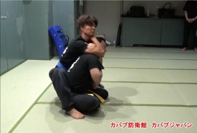 裸絞・腕十字固め・アキレス腱固め~組技訓練