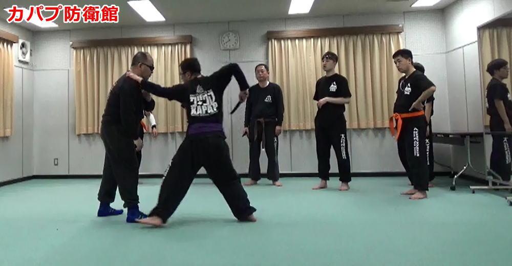 対ナイフ・キック・立関節技