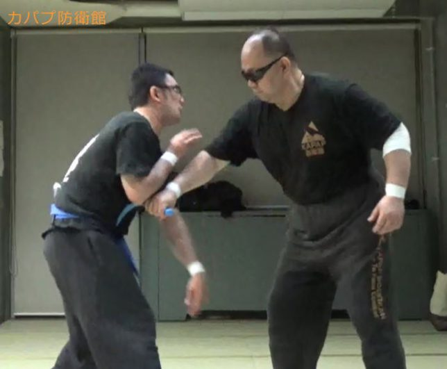 対ナイフ(逆手連打)~約束組手&スパーリング