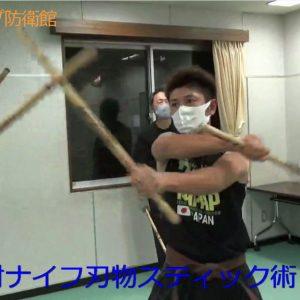 対ナイフ棒術